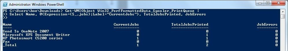 Viewing Print Queue Statistics with PowerShell | Learn