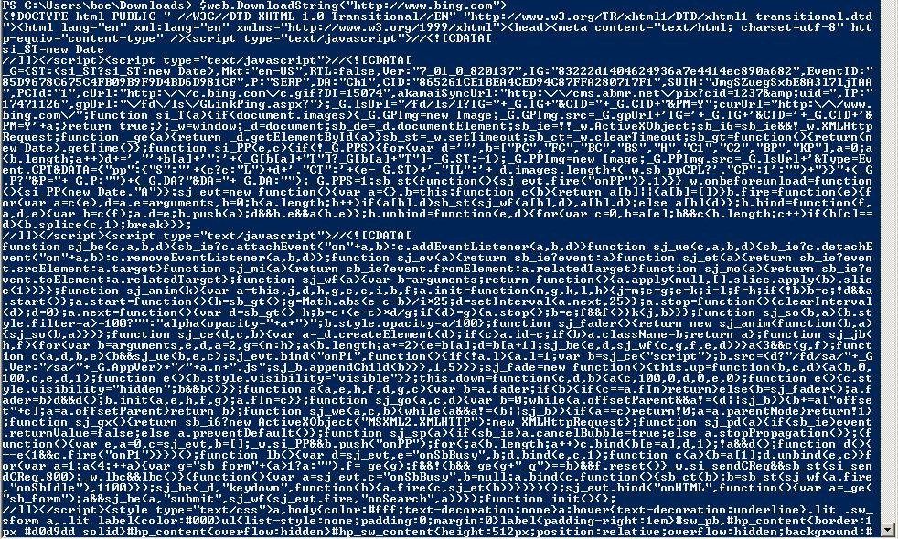 Using PowerShell to Query Web Site Information | Learn Powershell
