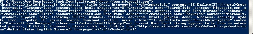 Using PowerShell to Query Web Site Information | Learn
