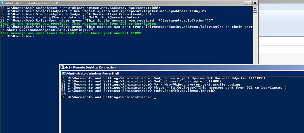 Querying UDP Ports with PowerShell | Learn Powershell