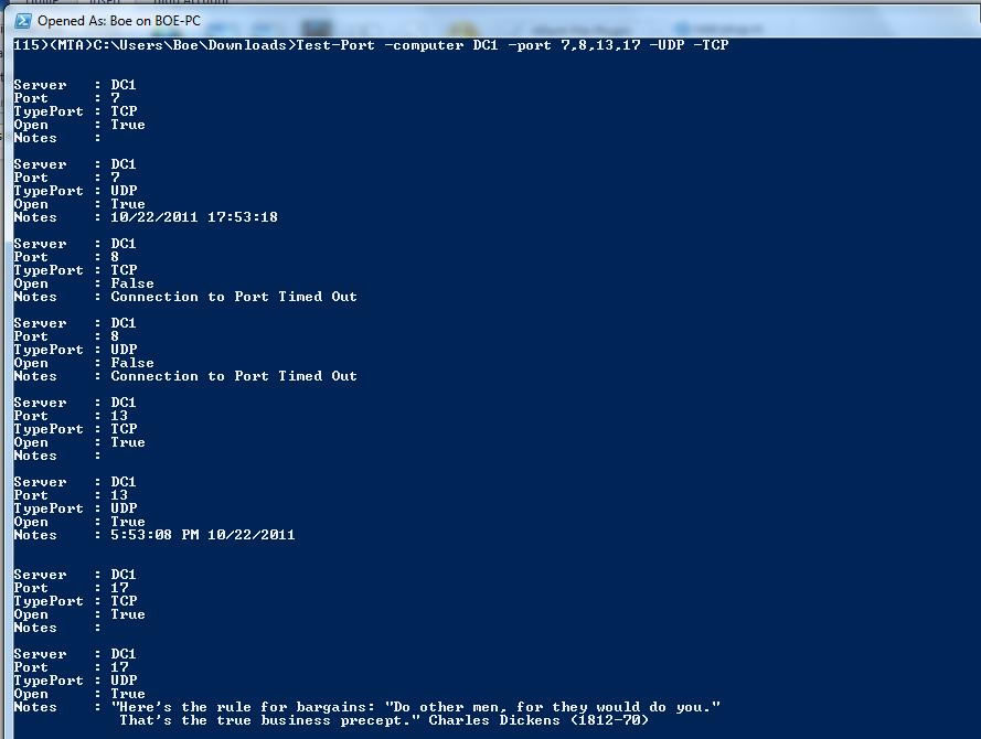 UDP Test Suite