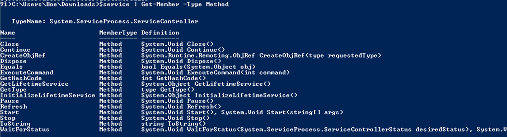 Starting,Stopping and Restarting Remote Services with PowerShell