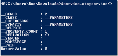 Starting,Stopping and Restarting Remote Services with