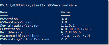 Run PowerShell in Version 2 While PowerShell V3 RC Is