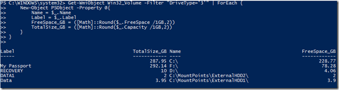 Locating Mount Points Using PowerShell | Learn Powershell