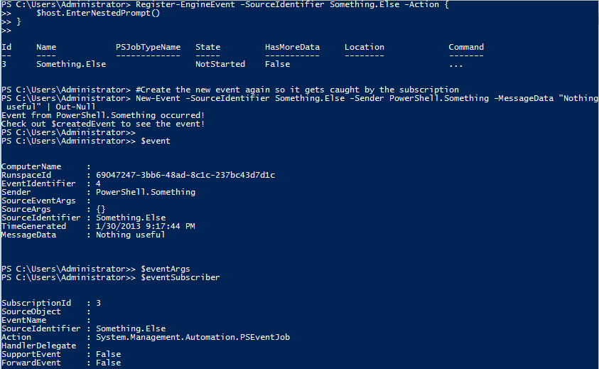 PowerShell and Events: Engine Events | Learn Powershell | Achieve More