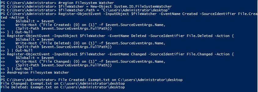 PowerShell and Events: Object Events | Learn Powershell