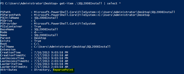 Creating A Symbolic Link Using Powershell Learn Powershell