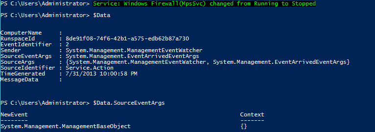 PowerShell and Events: WMI Temporary Event Subscriptions | Learn