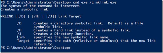 Creating a Symbolic Link using PowerShell | Learn Powershell