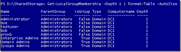 Get All Members of a Local Group Using PowerShell | Learn