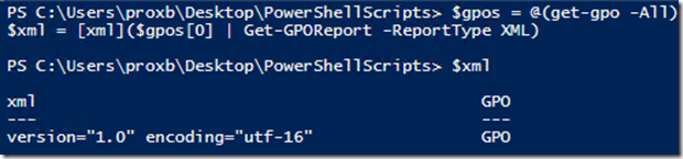 Report on Group Policy Objects that have Logon Scripts