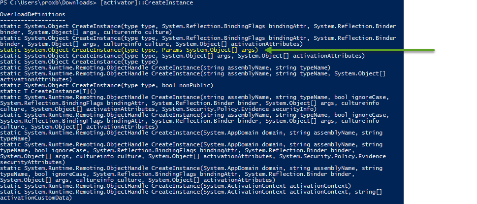 More New Stuff in PowerShell V5: A NEW Way to Construct Things