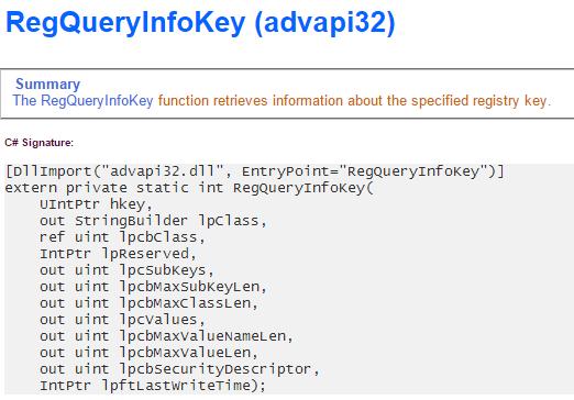 Retrieving a Registry Key LastWriteTime Using PowerShell