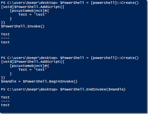 Another Way to Get Output From a PowerShell Runspace | Learn