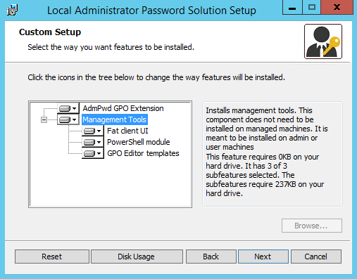 Setting up Local Administrator Password Solution (LAPS) | Learn