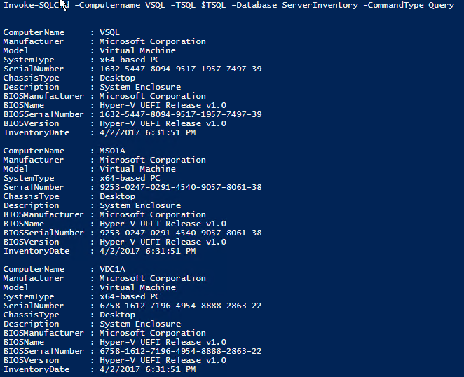 PowerShell Server Inventory, Part 2: Collecting and Sending Data